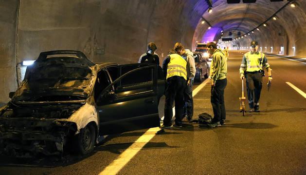Estado en el que ha quedado el vehículo tras el suceso.