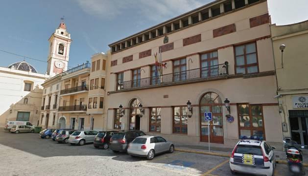 Ayuntamiento de Alberic (Valencia), localidad en la que ha tenido lugar el suceso.