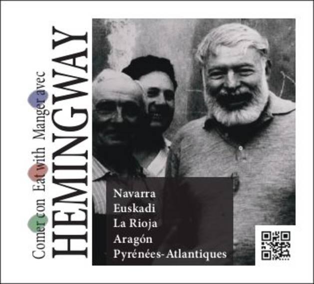Foto de la portada del libro 'Comer con Hemingway'.