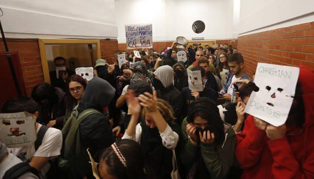 imagen de los jóvenes en la Universidad Autónoma de Madrid