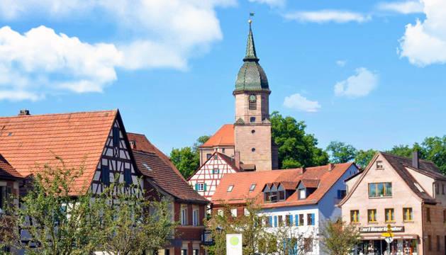 Georgensgmünd, la ciudad al sur de Alemania donde ha tenido lugar el tiroteo.