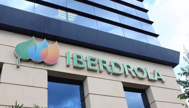 Foto de unas oficinas de Iberdrola.