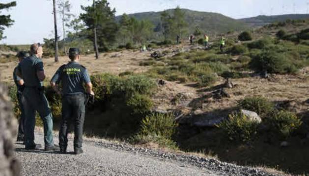 Agentes de la Guardia Civil implicados en la búsqueda de Diana Quer