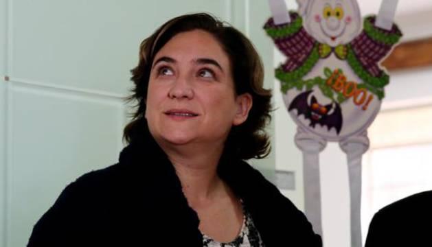 Ada Colau anuncia que está embarazada de un niño que nacerá en primavera