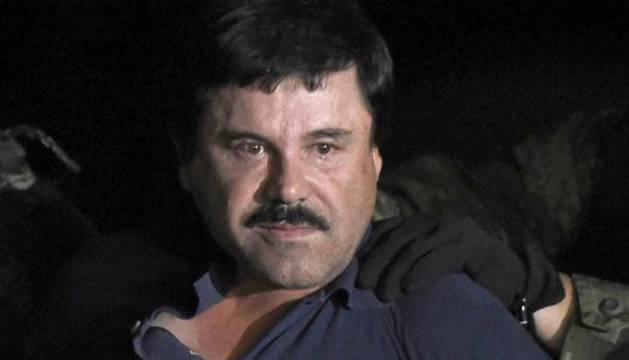 El narcotraficante Joaquín 'el Chapo' Guzmán.