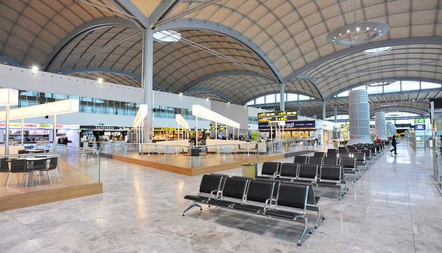 Imagen del aeropuerto de Alicante.