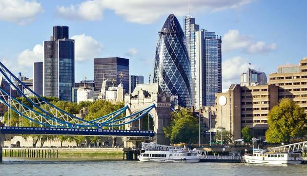 Imagen de la 'city' londinense.
