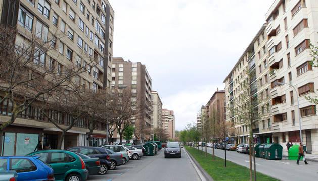 Varios de los robos se han denunciado en la calle Esquíroz.