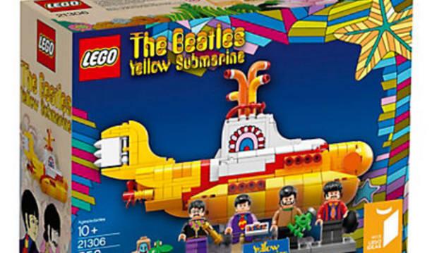 Caja del nuevo lanzamiento de Lego.