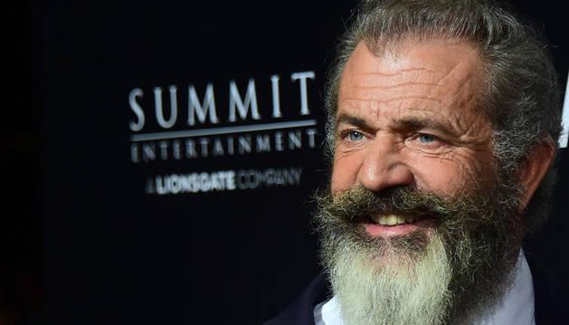 El director de cine Mel Gibson, en la presentación de su nueva película, 'Hacksaw Ridge'.