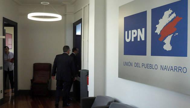 Imagen de la sede de UPN en Pamplona.