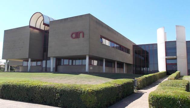 foto de la sede de AIN en Cordovilla