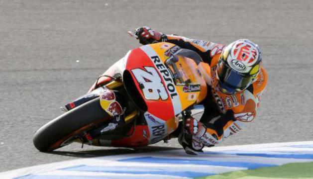 Dani Pedrosa, en el GP de Japón.