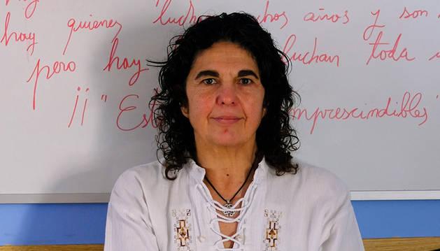 Daniela Scorrani, trabajadora social de la Asociación de Ludópatas Aralar.