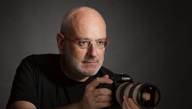 El fotógrafo Antonio Peinado Muñoz