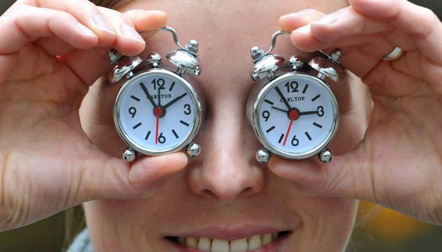 Foto representativa del cambio de hora.