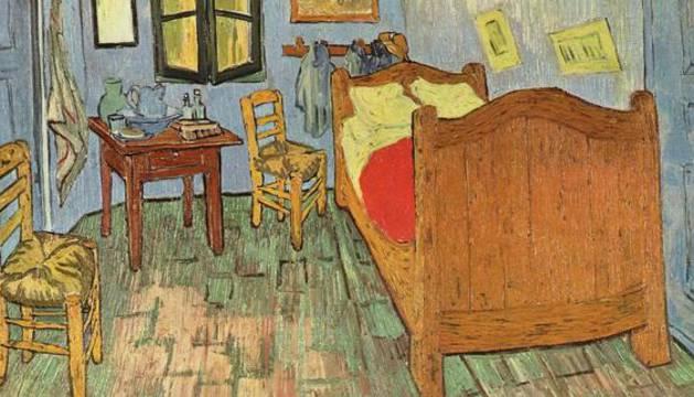 'El dormitorio en Arlés', de Van Gogh.