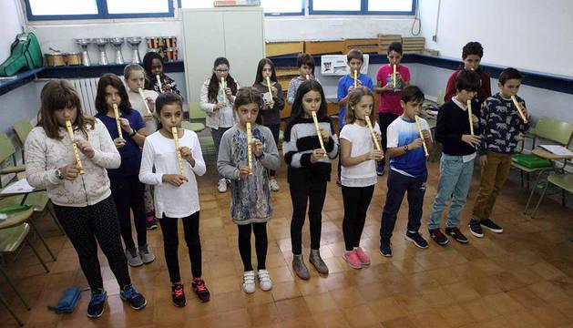 Enseñanza bilingüe en inglés en el colegio Elvira España (Tudela)