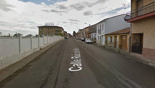Desalojado un bloque de viviendas en Castejón por un incendio