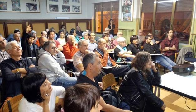 Participantes en la primera sesión.