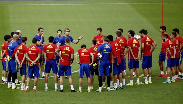 Imagen de una de las convocatorias de la Selección española