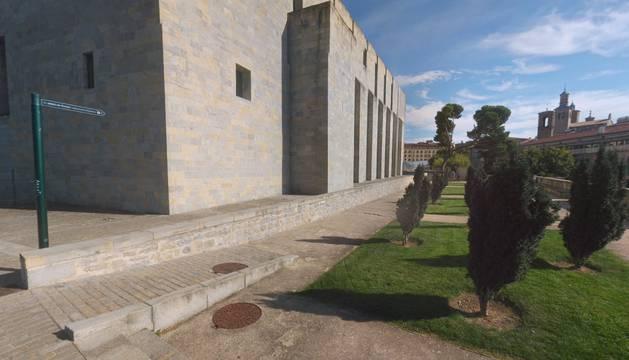 La nueva 'Plaza Jardines del Reino de Navarra'.