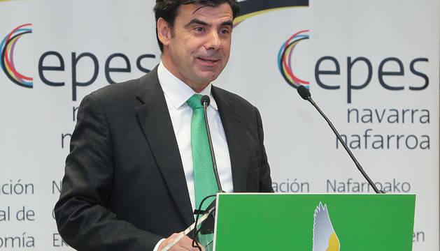 Ignacio Ugalde, presidente de CEPES Navarra.