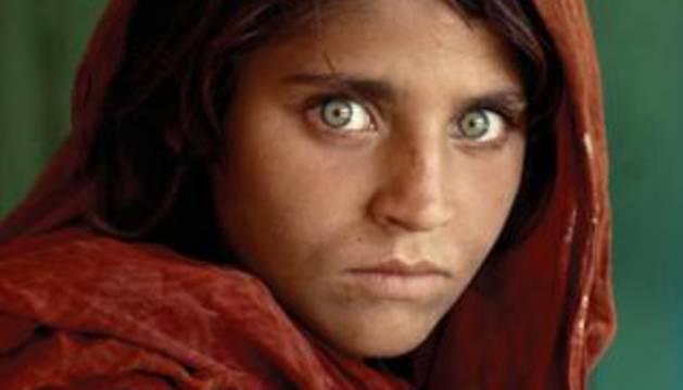La icónica foto de Steve McCurry.