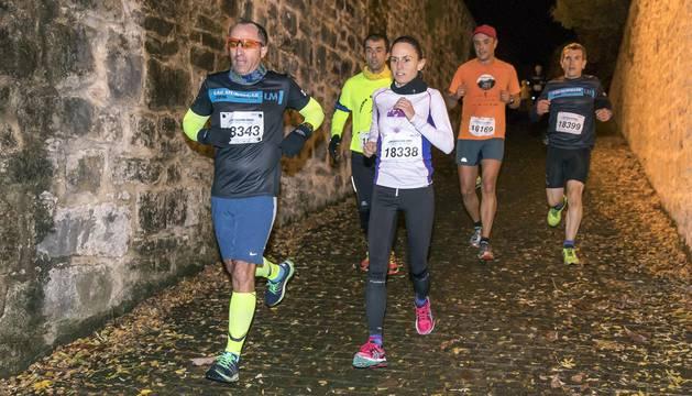 IV Carrera Popular de las Murallas en Pamplona