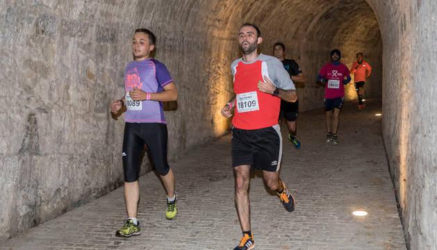 Participantes en la Carrera de las Murallas.