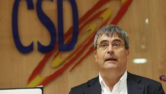 Miguel Cardenal abandona el Consejo Superior de Deportes