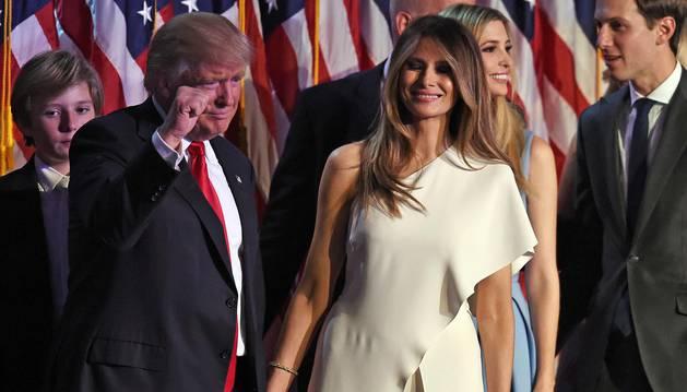 Trump celebra su victoria