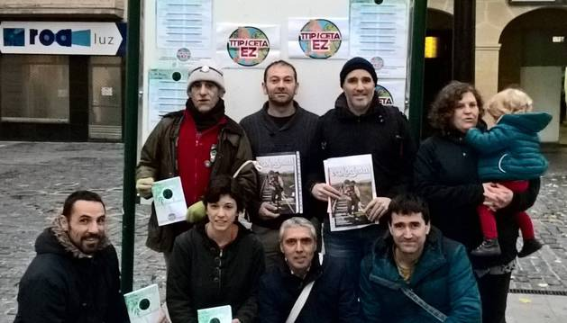 Los organizadores del Noviembre Ecológico presentan su programación en Estella.