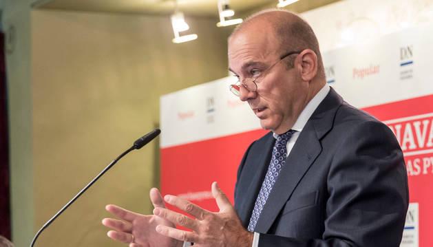 Pedro Larena Landeta, consejero delegado del Popular.