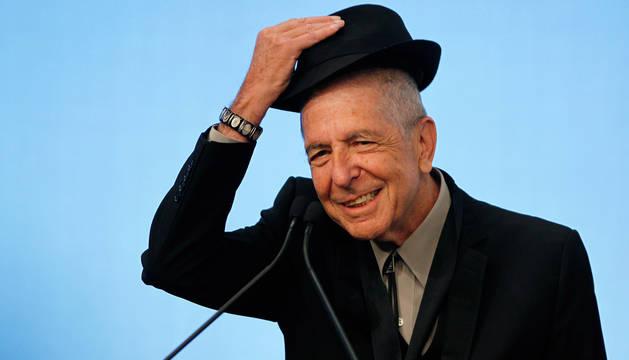 Muere el músico canadiense Leonard Cohen a los 82 años