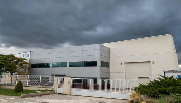 Imagen de la empresa Nicoplast, ubicada en el polígono industrial San Miguel de Villatuerta.