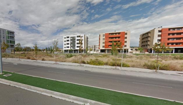 Imagen de la calle Paseo de los Poetas de Tudela.