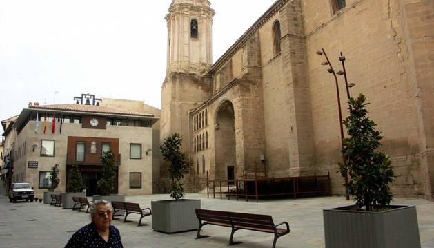 Plaza del Ayuntamiento de Cascante.