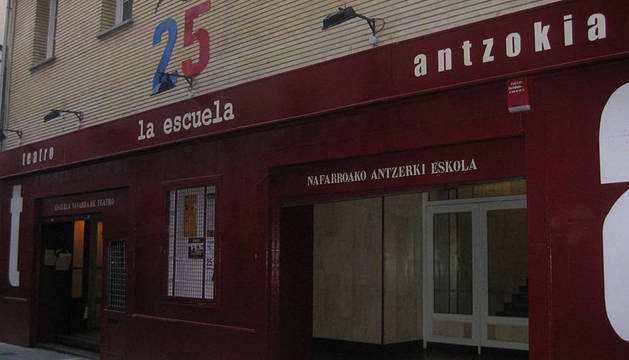 La sede de la Escuela Navarra de Teatro