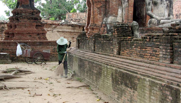 foto de un templo de tailandia