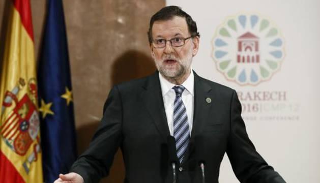 El presidente de Gobierno Mariano Rajoy.