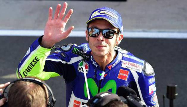 Valentino Rossi, en Cheste.