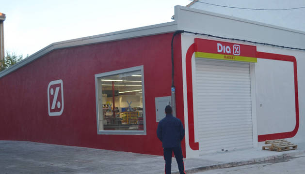 Nuevo supermercado DIA en Mendavia.