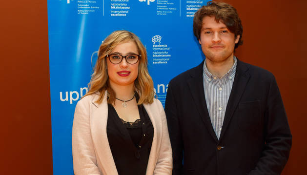 Imagen de Marta Cildoz y Deyo Maeztu, los ganadores del certamen.
