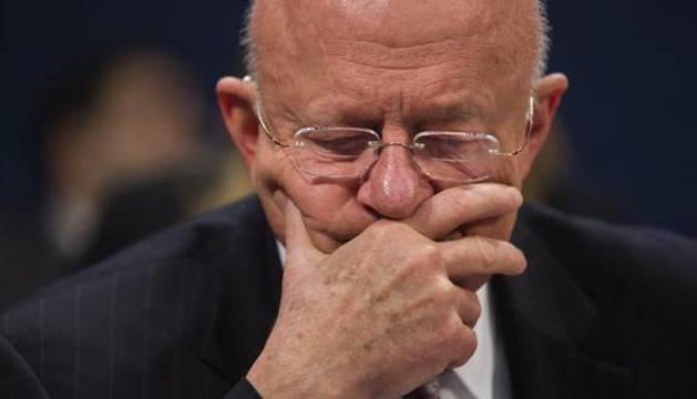 James Cappler, director de los servicios de inteligencia de Estados Unidos.