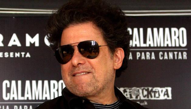El cantautor Andrés Calamaro.