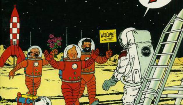 Una imagen del cómic.