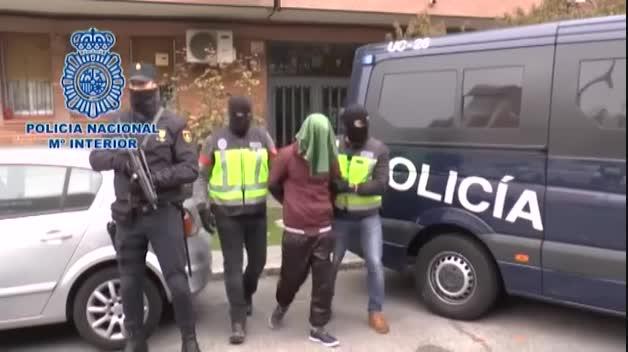 Detenidos dos presuntos terroristas en Madrid y Barcelona