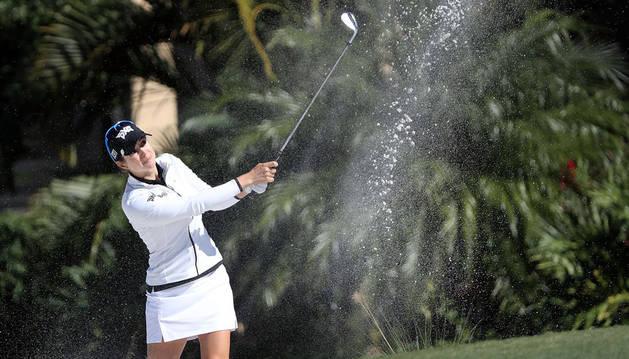 Beatriz Recari, en el torneo de Florida.