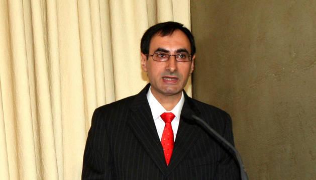 El profesor de la UPNA Santiago Martínez Magdalena, en una imagen de archivo.